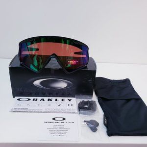 Oakley Wind Jacket 2.0 Matte Black Prizm Snow Jade